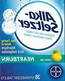 Alka-Seltzer Heartburn Antacid 36 Effervescent Tablets