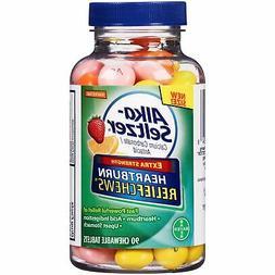 Alka-Seltzer Relief Chews Heartburn Assorted Fruit Treatment