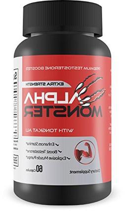 Alpha Monster - Premium Testosterone Booster - Extra Strengt