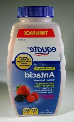 Equate Antacid Extra Strength, Assorted Berries, 750 mg, 200