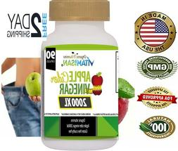 Apple Cider Vinegar Capsules Extra Strength Weight Fat Loss