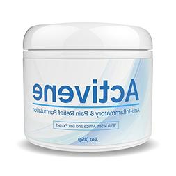 ACTIVENE Arnica Gel Cream - with Menthol and MSM | Pain Reli
