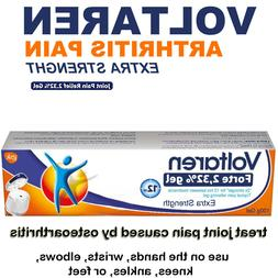 Arthritis Pain Extra Strength Topical Gel 100g/3.5oz Tube Fo