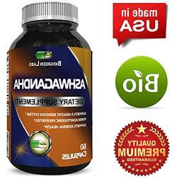 Premium Ashwagandha Root Powder - Pure Ashwagandha 1200 mg p