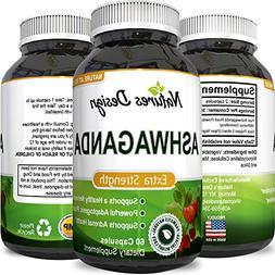 Ashwagandha Root Powder - Natural Supplement Pills For Sleep
