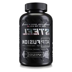 Steel Supplements ATP-Fusion Creatine Monohydrate Capsules W