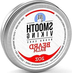 Beard Balm with Leave-in Conditioner- Styles, Strengthens &