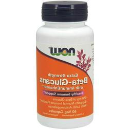 Now Foods BETA-GLUCANS with Immune Enhancer, Extra Strength,