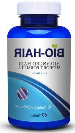 Bio Hair Vitamins for Faster Hair Growth and Hair Health. Ex