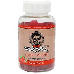 DON JUAN Biotin Gummies 10000mcg-Bio Gummy-Hair Skin Nail Su