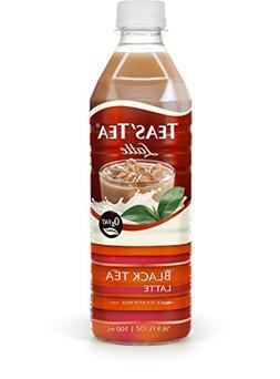 Teas' Tea Black Tea Latte 16.9 Ounce  Organic Cane Sugar Swe