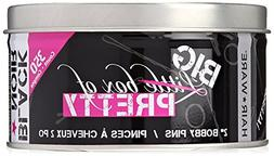 Little Box of Pretty Bobby Pins Large Tin, Black, 350 Count