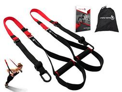 Bodyweight Fitness Resistance Trainer Kit with Pro Straps fo