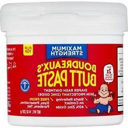 Boudreaux's Butt Paste Diaper Rash Ointment, Maximum Strengt