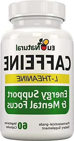 ELITE Caffeine with L-Theanine - Extra Strength Jitter-Free
