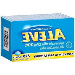 Aleve Caplets with Naproxen Sodium, 220mg  Pain Reliever/Fev