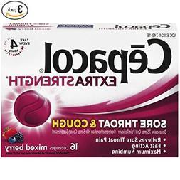 Cepacol Extra Strength Sore Throat & Cough Drop Lozenges, Mi