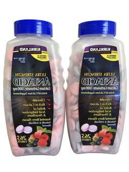 Kirkland Signature Chewable Ultra Strength Antacid / Calcium