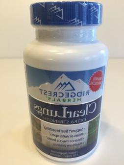 Ridgecrest Herbals Clear Lungs Extra Strength 120 Vegan Caps