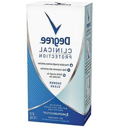 clinical protection anti perspirant shower