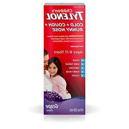 Children's Tylenol Cold + Cough + Runny Nose & Fever Medicin