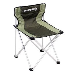 KingCamp Folding Camp Quad Chair Aluminum Frame Padded Overs