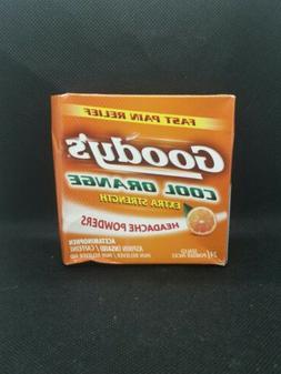 Goody's Extra Strength Headache Powders | Cool Orange | 24 C