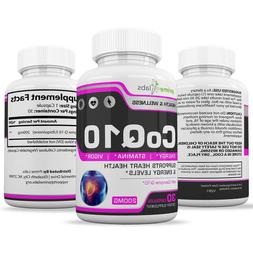 CoQ10 by Prime Labs Extra Strength High Absorption 200mg 30