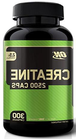 OPTIMUM NUTRITION Micronized Creatine Monohydrate Capsules,