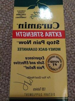 CURAMIN®  STOP PAIN NOW EXTRA STRENGTH Terry Naturally Euro