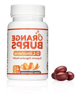 MIH Products | Orange Burps D-Limonene Capsules | All-Natura