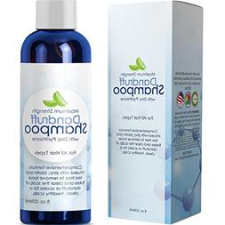 Dandruff Shampoo with Zinc Sulfate Free Extra Strength Formu