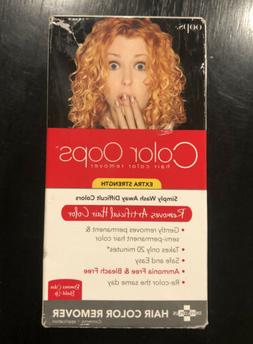 Developlus Color Oops Extra Strength Hair Color Remover Box