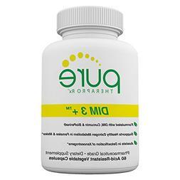 DIM 3 +  60 Vegan Caps | DIM-200mg, Curcumin-250mg & BioPeri