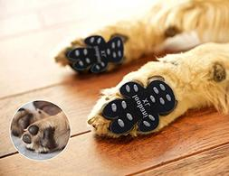 LOOBANI 48 Pieces Dog Paw Protector Traction Pads to Keeps D