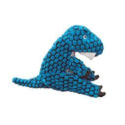 KONG Dynos T-Rex Blue Dog Toy, X-Small