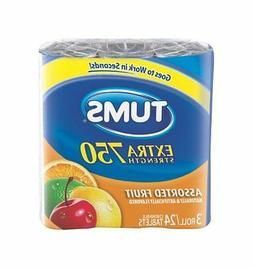 Tums E-X Antacid Calcium Supplement, 24 ct