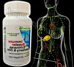 Elderberry,Zinc,Enchinancea Caps Extra Strength Immune Syste