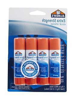 ELMERS Extra Strength Office Glue Sticks, 0.28 oz Each, 4 St