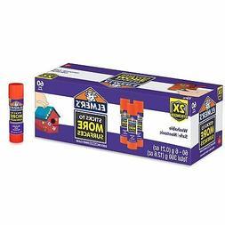 Elmer's Extra Strength School Glue Sticks, Washable, 6 Gra