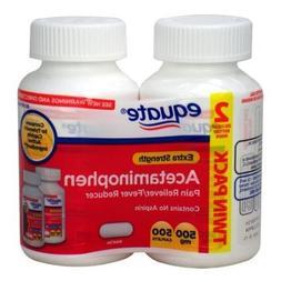 Equate Extra Strength Acetaminophen Pain Reliever/Fever Redu