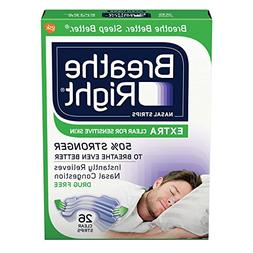 Breathe Right Nasal Strips to Stop Snoring, Drug-Free, Extra