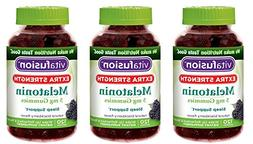 Vitafusion Extra opWKm Strength Melatonin, Blackberry, 5mg -