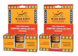 Tiger Balm Extra Pain Relieving Ointment  with Camphor, Ment