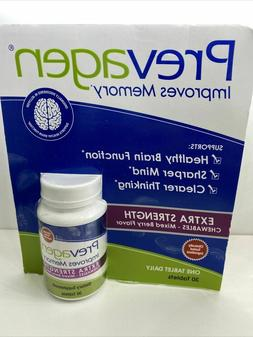 Prevagen Extra Strength 30 Chewables Mixed Berry Improves Me