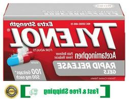 Tylenol Extra Strength 500 mg Rapid Release Gels with Acetam