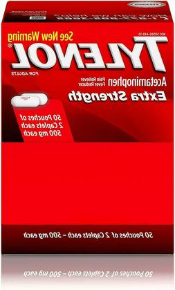 Tylenol Extra Strength 500mg each  exp 09/23