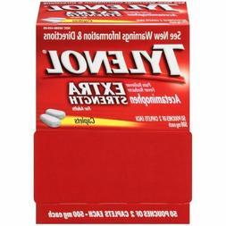 TYLENOL 500mg Extra Strength Fever Reducer Pills - 100 Ct /