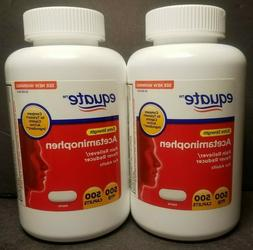 Equate Extra Strength ACETAMINOPHEN 1000 Caplets  500mg EXP