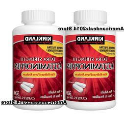 2X Kirkland Signature Extra Strength Acetaminophen 500 mg 10